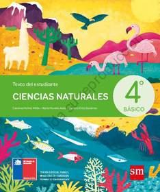 Libro de Ciencias Naturales de 4 Basico  para 2020