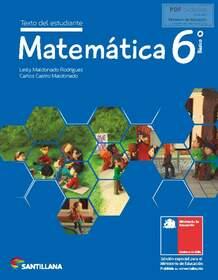 Libro de Matemáticas 6 de Básico en 2020 en PDF