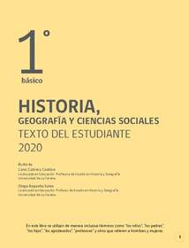 Libro de Historia 1 Basico PDF 2020