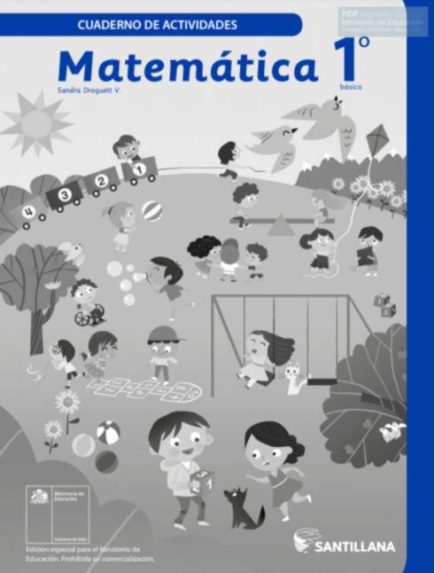 Cuaderno de Actividades Ejercicios de Matematicas 1 Basico 2021