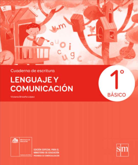 Cuaderno de Escritura de Lenguaje y Comunicacion