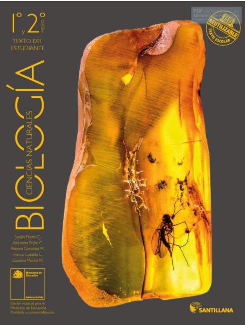 Libro de Biologia de 1 Medio para 2021