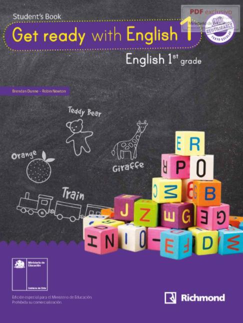 Libro de Ingles 1 Basico 2021