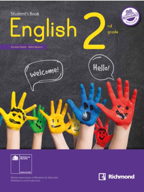 Libro de Ingles 2 Basico 2021