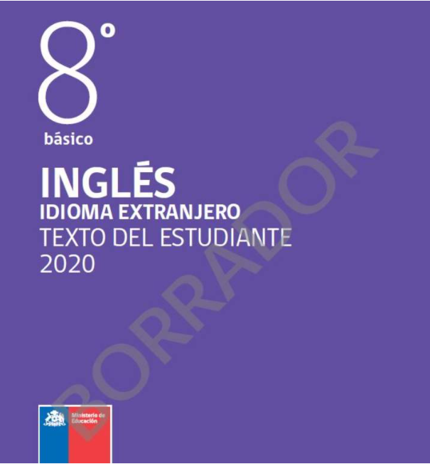 Libro de Ingles 8 Basico para 2020 / 2021