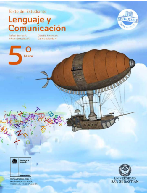 Libro de Lenguaje 5 Basico en PDF 2020 / 2021