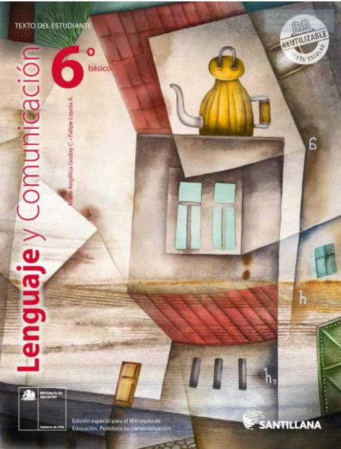 Libro de Lenguaje 6 Basico 2020 / 2021 PDF