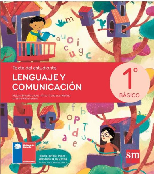 Libro de Lenguaje y Comunicacion 1 Basico 2021