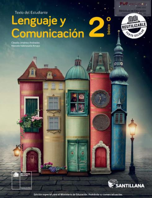 Libro de Lenguaje y Comunicacion 2 Basico 2021