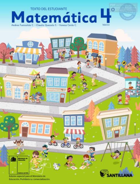 Libro de Matemáticas 4 Básico PDF 2021