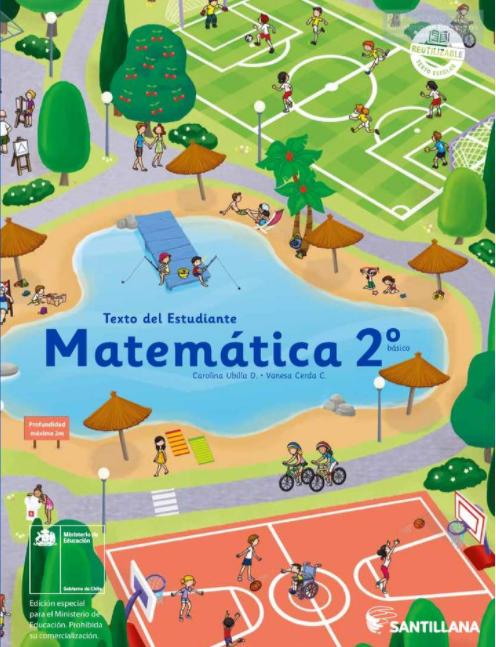 Libro de Matematicas 2 Basico 2021