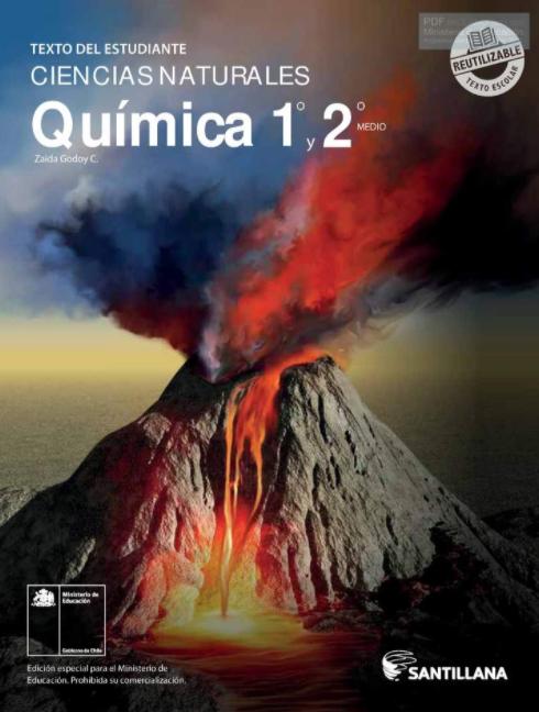 Libro de Quimica 1 y 2 Medio 2021