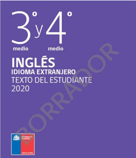 Libro de ingles 3 y 4 Medio  2021 en PDF