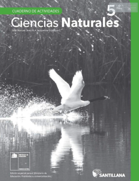 Cuadernillo de Ciencias Naturales 5 Quinto Basico 2020 2021