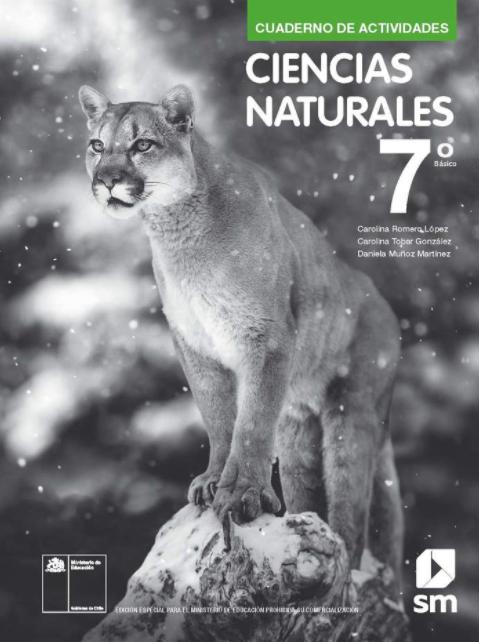Cuadernillo de Ciencias Naturales 7 Basico 2020 2021