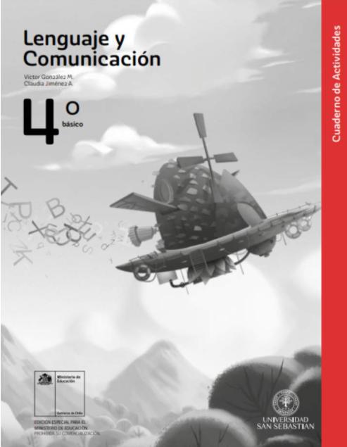 Cuadernillo de Lenguaje y Comunicacion 4 Cuarto Basico 2020 2021
