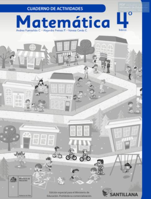 Cuadernillo de Matematicas 4 Basico 2020 2021