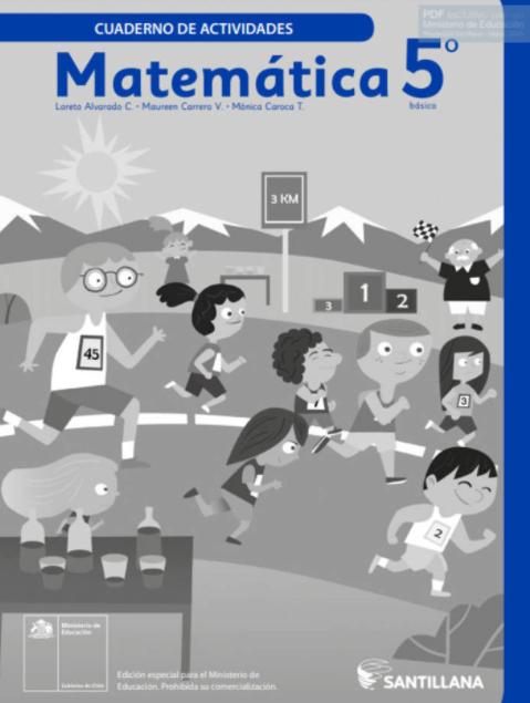 Cuadernillo de Matematicas 5 Basico 2020 2021